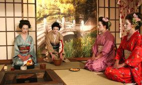 Японская чайная церемония во всех подбродностях