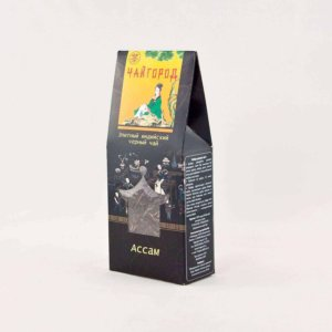 """""""Ассам"""" Чай черный индийский байховый в картонной упаковке"""