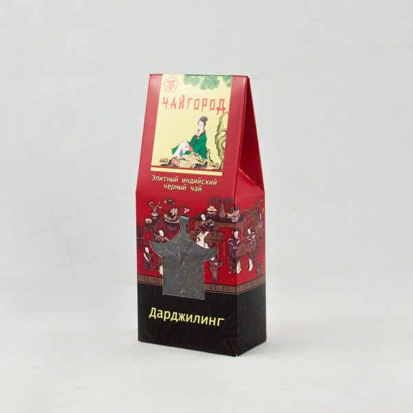 """""""Дарджилинг"""" Чай черный индийский байховый в картонной упаковке"""