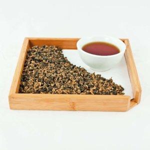 """""""Красная улитка""""Чай китайский черный байховый"""
