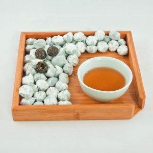"""""""Пуэр мини туо ча шэн"""" Чай зеленый китайский прессованный пуэр порционными """"гнездышками"""""""