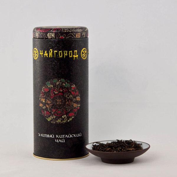 """""""Подарок заморскому послу"""" Чай китайский черный байховый 100 г"""