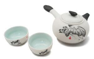 Сравнение китайской и японской керамики