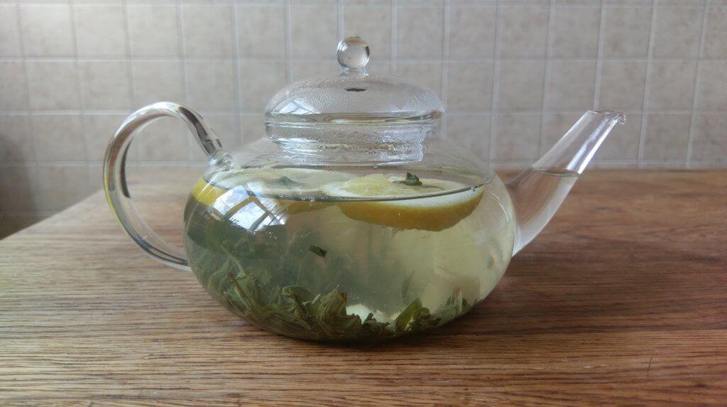 Зеленый чай Ингоу с имбирем, лимоном и медом