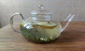 Чайные рецепты. Зеленый чай Ингоу с имбирем, лимоном и медом.