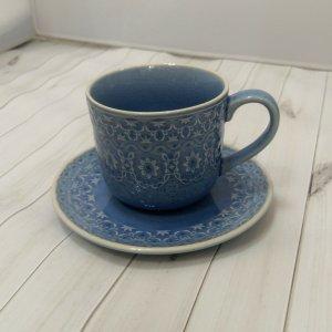 """Чашка с блюдцем 0,3л (голубая) """"Ambiente"""""""