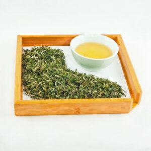 Белая обезьяна чай китайский зеленый байховый