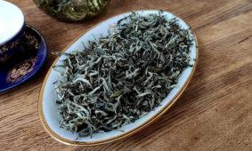 """Завариваем """"Юньнань маофэн"""" китайский зеленый крупнолистовой чай"""