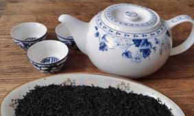 завариваем чай кимун