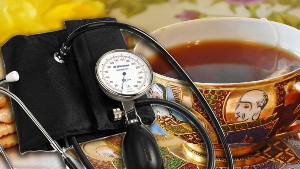 чай снижает артериальное давление