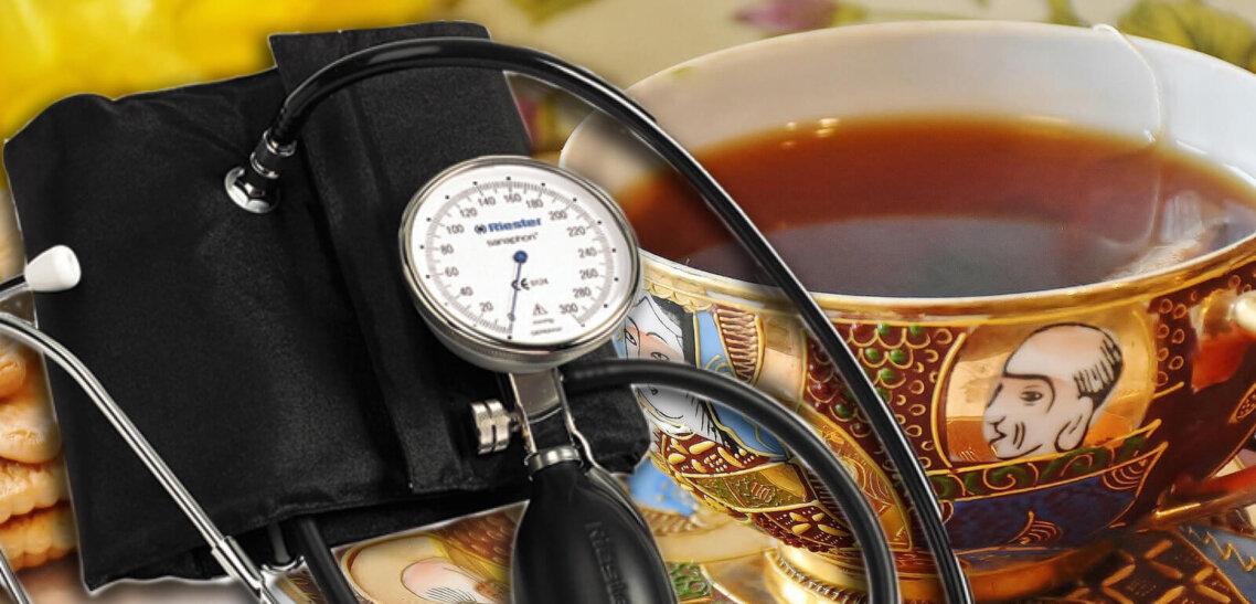 Как чай снижает артериальное давление?